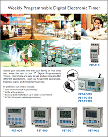 Consumer Product, Digital Electronic Timers